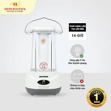 Đèn sạc tích điện đa năng Honjianda HJD-320 48 bóng LED 24W siêu sáng - Bảo  hành chính hãng