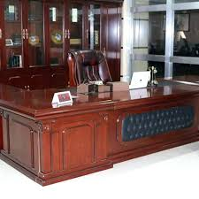 solid oak office desk. Wood Office Desk Furniture Solid Wooden . Oak