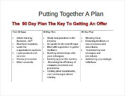 30 60 90 Business Plan 30 60 90 Business Plan Template Schablonpenseln Com
