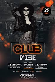 Club Flyer Templates Free Free Club Vibe Psd Flyer Template Free Psd Flyer Templates