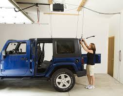 harken 7803b hoister garage storage 4 point lift system for jeep quadratec