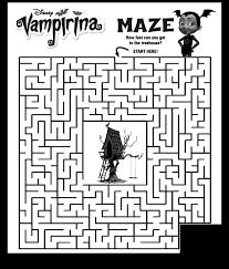 Vampirina Coloring Pages Getcoloringpagescom