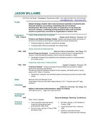 Sample Resume Templates Madinbelgrade
