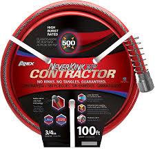 100 foot garden hose. NeverKink 3/4-in X 100-ft Contractor-Duty Kink Free Garden Hose 100 Foot