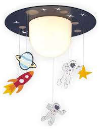 childrens ceiling lighting. Childrens Ceiling Light Astronaut Rocket Planet Stars Model Glass Round Single Lamp Lighting For Baby Kids Child Rooms Contemporary Style