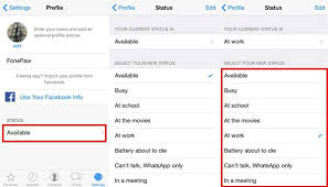 How to Change WhatsApp Profile Picture Name or Status on iPhone