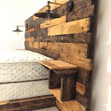 reclaimed wood headboard king within remarkable best ideas about remodel 5