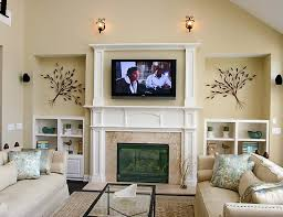 Image Corner Fireplace Fireplace And Tv Ideas Awesome 18 Chic Modern Tv Wall Mount For Living Room Home Design Regarding Coachalexkuhncom Fireplace And Tv Ideas Inspire Enchanting Living Room Design With