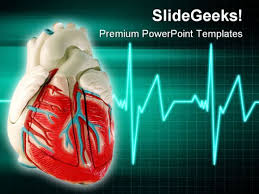 Heart Powerpoint Templates Healthy Heart Medical Powerpoint Template 0610