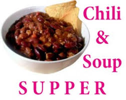 chili supper flyer people first aktion club chicken dumpling soup and chili supper