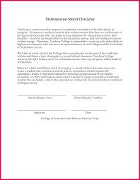 Good Moral Character Letter For Immigrat Unique Sample Certificate