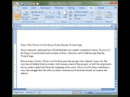 writing a persuasive essay the first body paragraph