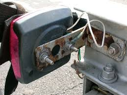 the trouble with trailer lights trailering boatus magazine 4 Pin Trailer Wiring Diagram photo of boat trailer lights grounded