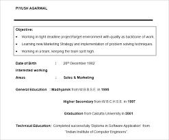 Sales And Marketing Resume Objective Marketing Resume Objective Examples Jovemaprendiz Club