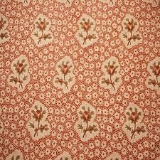 Boho Chic Jane Shelton Rose Medallions Linen Designer Fabric by the Yard |  Chairish