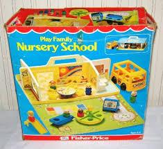 vintage fisher price nursery school