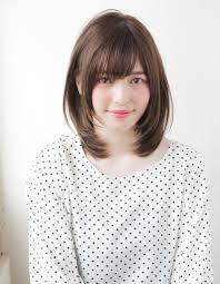 小顔ナチュラルミディアムレイヤーの髪型to 31 ヘアカタログ髪型