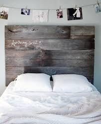 reclaimed wood headboard diy