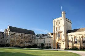 Plain Modern Architecture Oxford Mansfield College Has A Combination And Design
