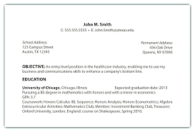 Resume Objective Examples For Customer Service What To Put In On Do
