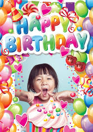 Card Bday Free Printable Photo Happy Birthday Cards Online Customized Photo Cards Printed Mailed For You International Online Or With Our Free Postcard