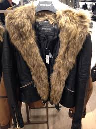 coats little d s diary img 5640 img 5642 image 3 of river island leather look jacket with faux fur collar