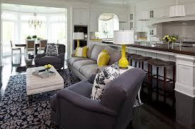 Yellow Home Decor Accents Gray And Yellow Living Rooms Photos Ideas And Inspirations 15