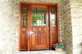 craftsman front door with sidelights fiberglass entry doors window t48