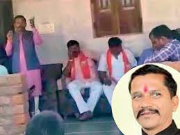 Ramesh Katara Viral Video Shows How Bjp Mla Takes Voters For A Ride