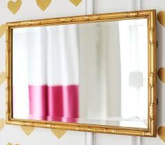 gold bamboo mirror. Gold Bamboo Mirror Pottery Barn Kids