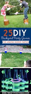 Diy Outdoor Games Best 20 Backyard Party Games Ideas On Pinterest Outdoor Party