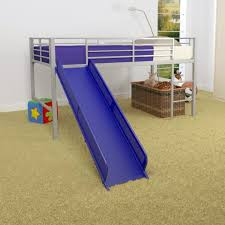 Bedroom Toddler Bunk Bed With Slide Blue Bunk Bed With Stairs Kids