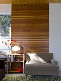 image of easy wood panel accent wall