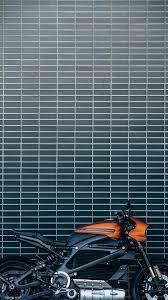 orange and black motorcycle iPhone 8 ...