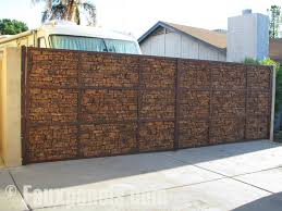 faux stone wall panels outdoor