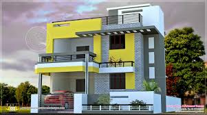 modern indian house design with floor plans