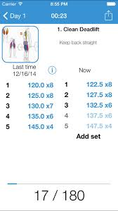 3 Minutes To Hack Igym Free Gym Workout Log Exercise