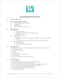 Executive Summary Outline How To Write A Business Plan Executive Summary Executive