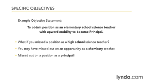Career Objective For Finance Job Resume English Teacher Attractive