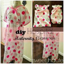 Hospital Gown Pattern Mesmerizing DIY Maternity Hospital Gown Pattern FREE Tutorial SWEETHAUTE