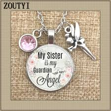 My sister's guardian angel commemorates the <b>charm</b>. To ...
