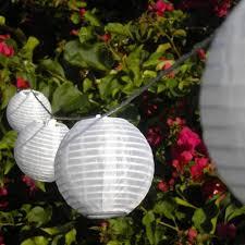 Patio Solar Lights Chinese Lanterns Outdoor LED Hanging String Red Chinese Lantern Solar Lights
