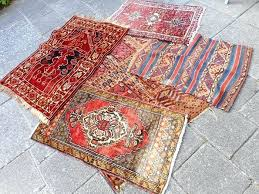 small oriental rug lot of five diffe small oriental rugs first half of the twentieth century small oriental rug