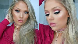 valentine s day makeup tutorial 2018 soft glam