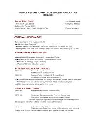 Example Resume For Job Application Sample Malaysia 93 Template