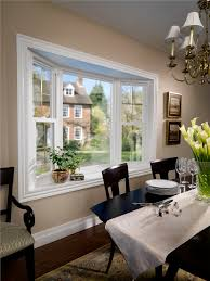 Bay  Bow Archives Simonton Windows  Doors - Bay window in dining room