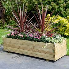 elite rectangular planter