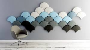 decorative acoustic panels. Complying With Modern Design And Based On A Symbiosis Of Form, Color Light, Acoustic Panels Are Decorative Ofdesign