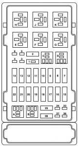 ford e series e 150 e150 e 150 (2004) fuse box diagram auto genius 1995 ford econoline fuse box location at Ford Econoline Fuse Box