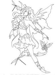Best Of Elves And Fairies Coloring Pages Howtobeawesome